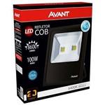 Refletor LED 100w Luz Branca 6400k Bivolt Avant