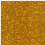 Tecido Estampado para Patchwork - Arabescos Mostarda (0,50x1,40)