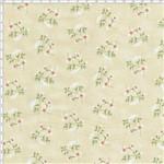 Tecido Estampado para Patchwork - Coleção Romance Bouquet Romance Creme (0,50x1,40)