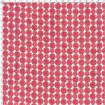 Tecido Estampado para Patchwork - Margaridinhas Rosa Jaipur (0,50x1,40)