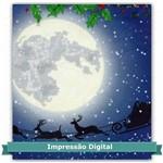 Tecido Estampado para Patchwork - Painel Noite de Natal Digital DN030 (0,45x1,40)
