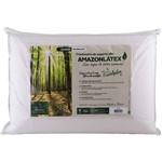 Travesseiro Amazon Látex de Poliuretano com Capa Eucaliptus em Viscose: Médio - Fibrasca